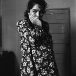Dina, operaia di maquillas, il giorno del suo licenziamento dovuto alla sua gravidanza. Piedras Negras. Messico 1994.